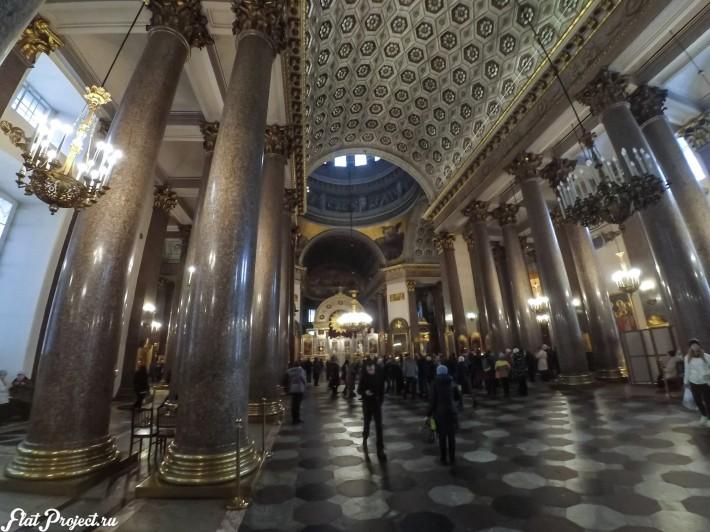 Потолки и декор Казанского собора — фото 49