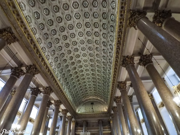 Потолки и декор Казанского собора — фото 44