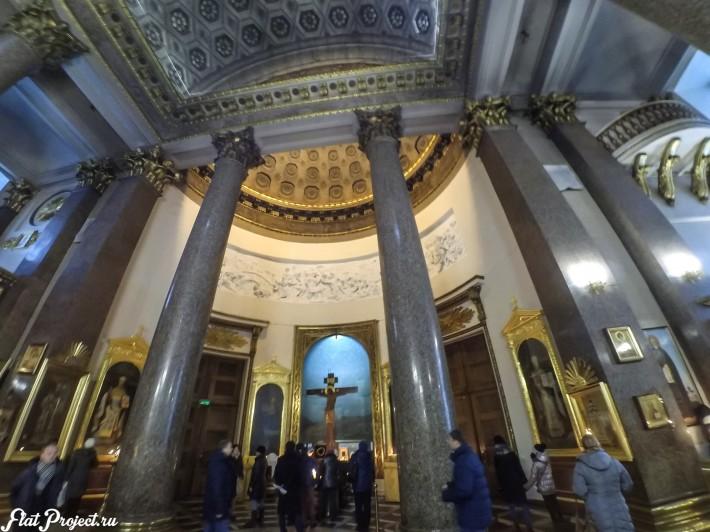 Потолки и декор Казанского собора — фото 28