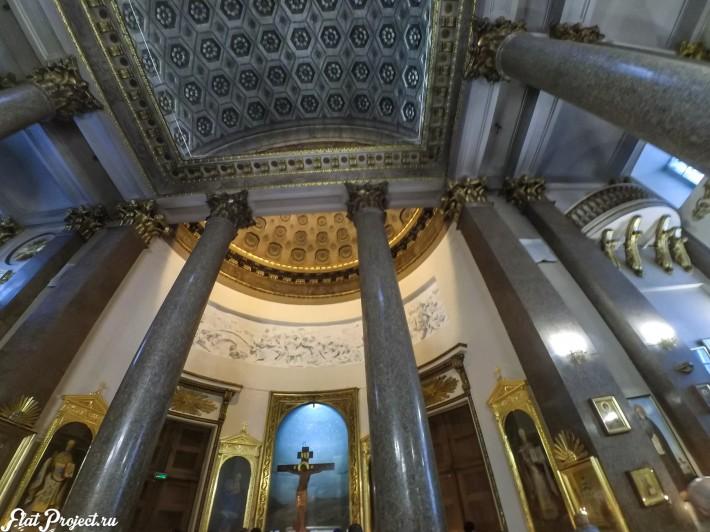 Потолки и декор Казанского собора — фото 56