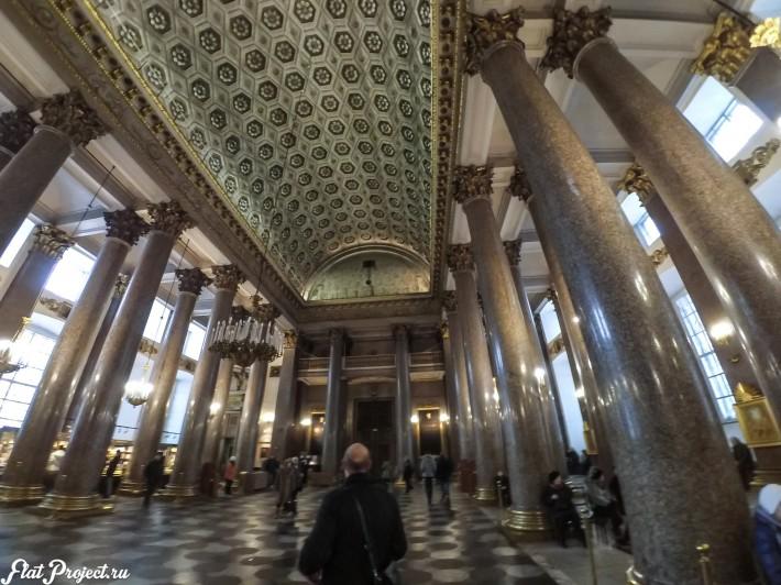 Потолки и декор Казанского собора — фото 22