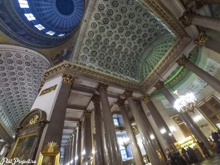 Потолки и декор Казанского собора — фото 2