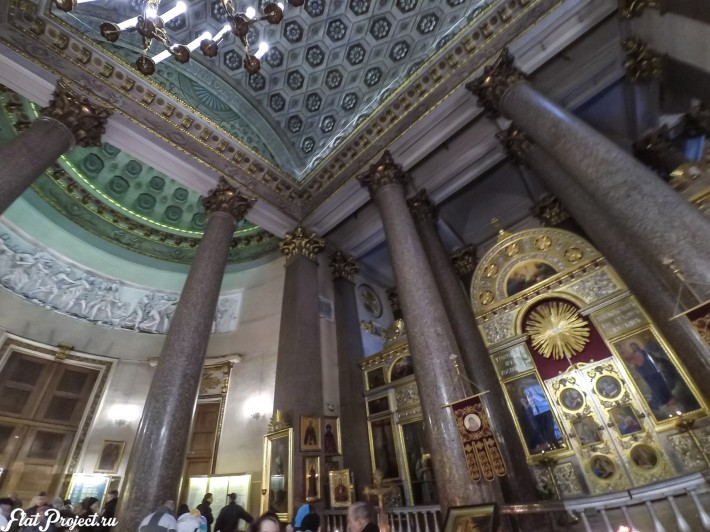Потолки и декор Казанского собора — фото 34
