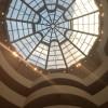Стеклянная крыша в музее Соломона Гуггенхейма