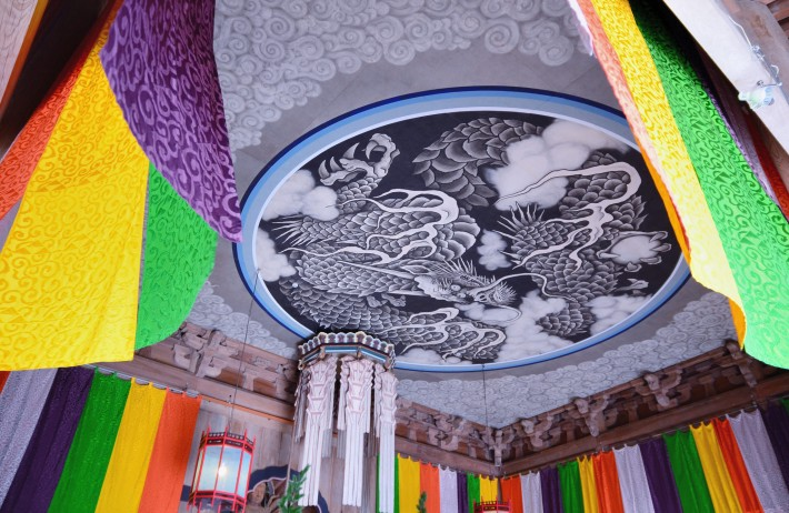 Дракон на потолке Хатто (Дхарма Холл) — фото 2
