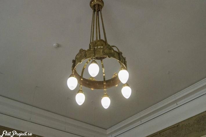 Потолки и декор в здании Главного штаба — фото 44