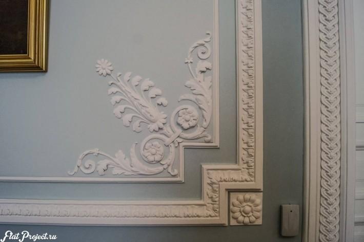Потолки и декор в здании Главного штаба — фото 96