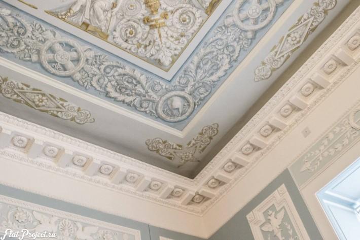 Потолки и декор в здании Главного штаба — фото 38