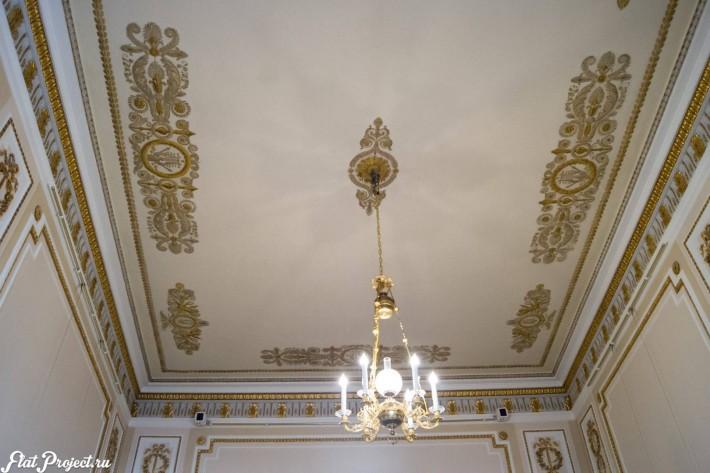 Потолки и декор в здании Главного штаба — фото 124