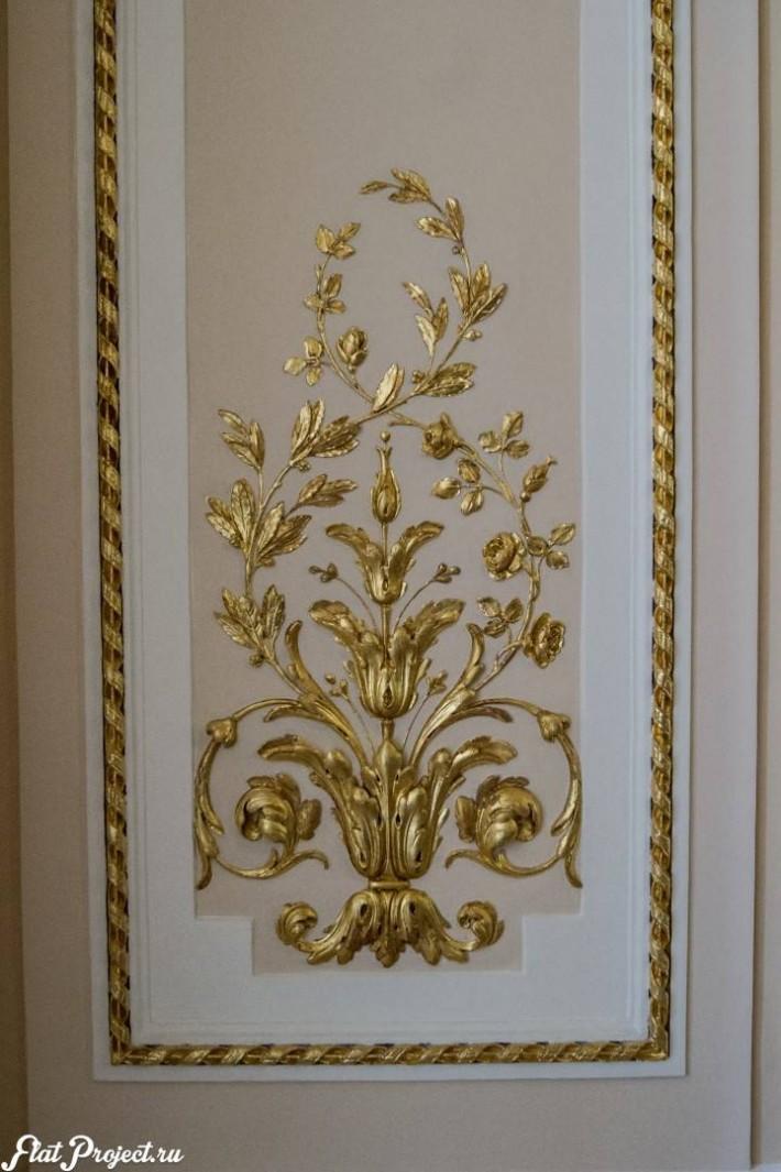 Потолки и декор в здании Главного штаба — фото 54