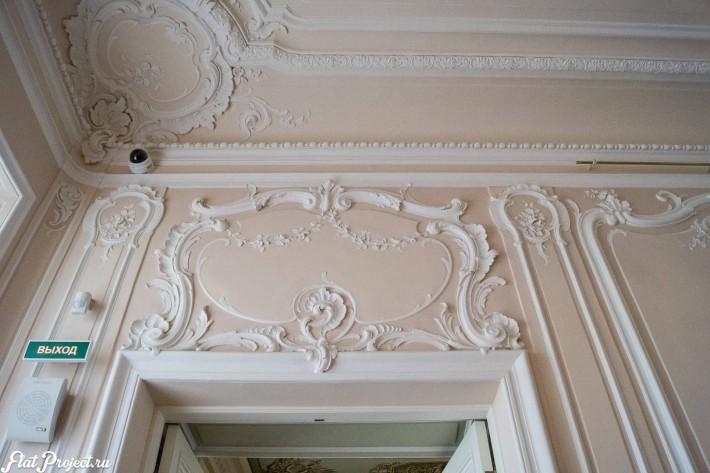Потолки и декор в здании Главного штаба — фото 170