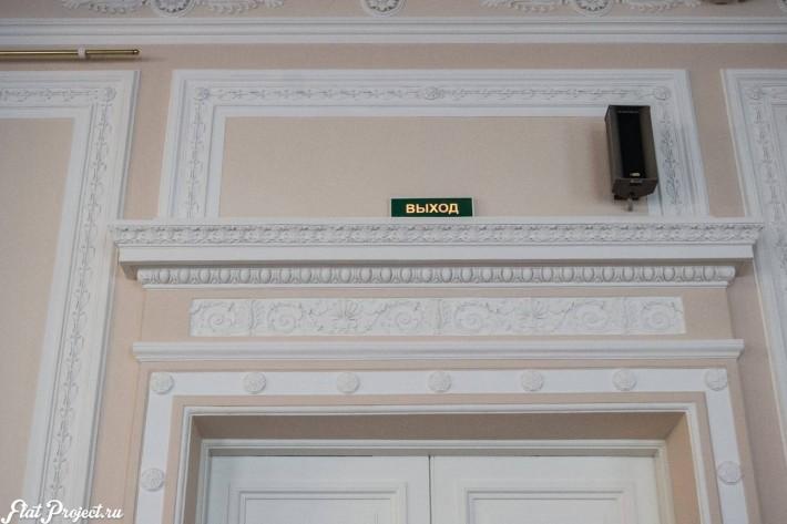 Потолки и декор в здании Главного штаба — фото 71