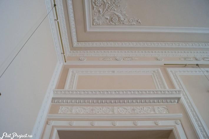 Потолки и декор в здании Главного штаба — фото 47