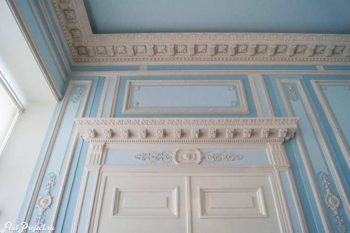 Потолки и декор в здании Главного штаба — фото 86