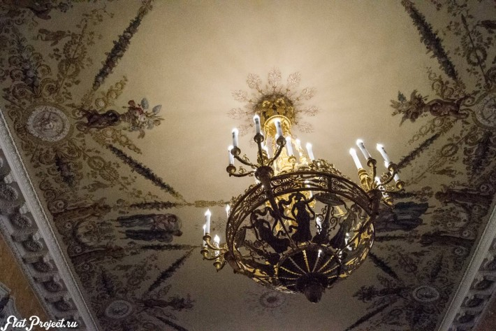 Потолки и декор в здании Главного штаба — фото 150