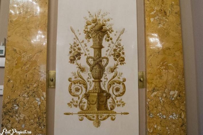 Потолки и декор в здании Главного штаба — фото 167