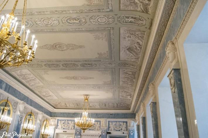 Потолки и декор в здании Главного штаба — фото 50