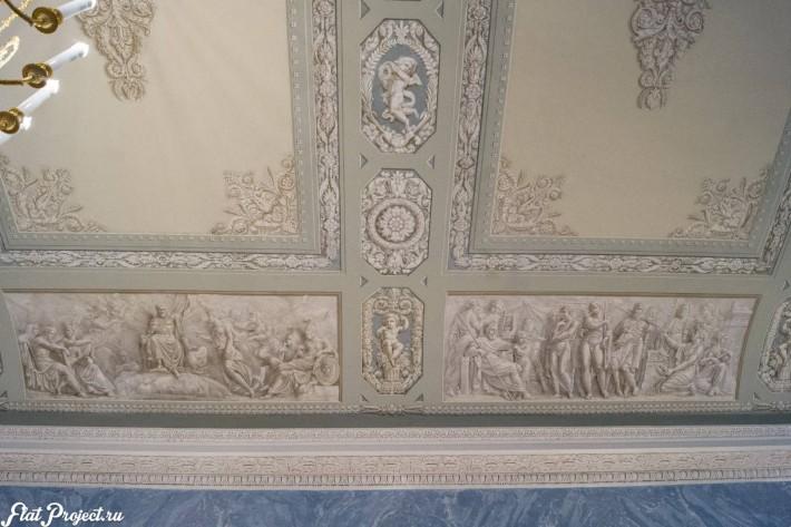 Потолки и декор в здании Главного штаба — фото 145