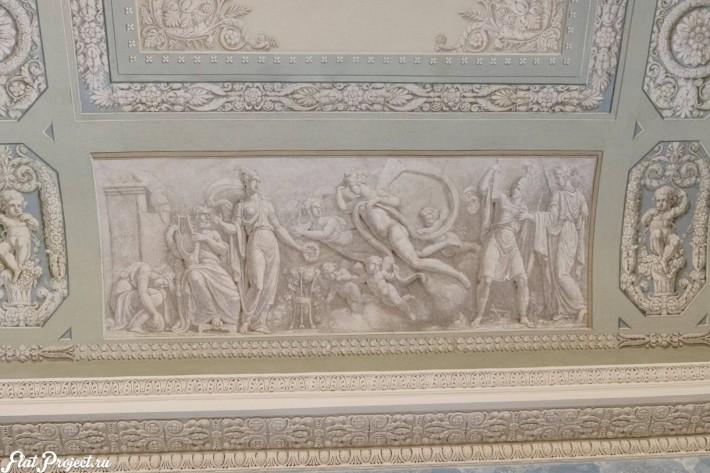 Потолки и декор в здании Главного штаба — фото 153