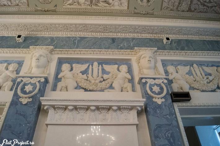 Потолки и декор в здании Главного штаба — фото 67