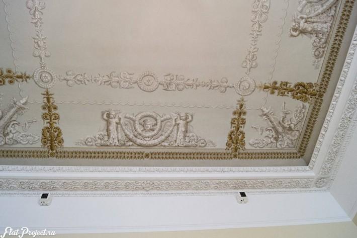Потолки и декор в здании Главного штаба — фото 111