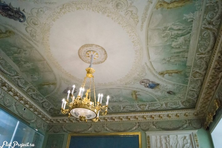 Потолки и декор в здании Главного штаба — фото 113