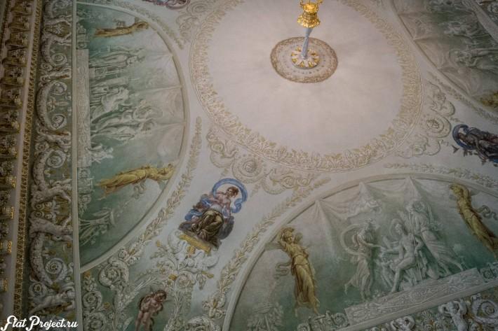 Потолки и декор в здании Главного штаба — фото 128