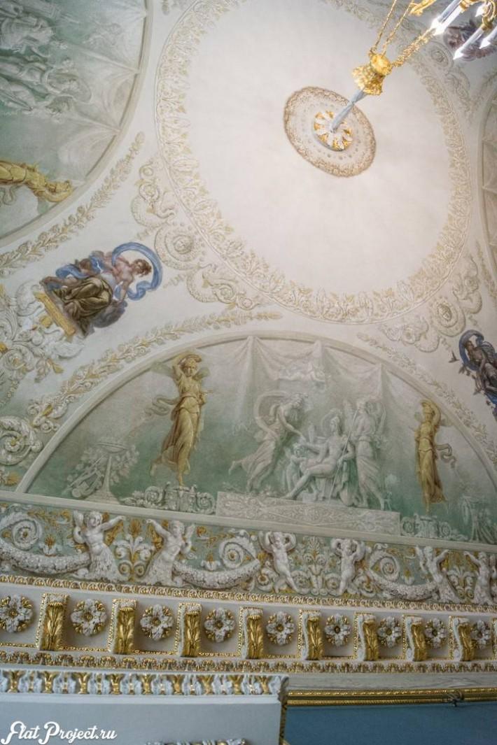 Потолки и декор в здании Главного штаба — фото 129