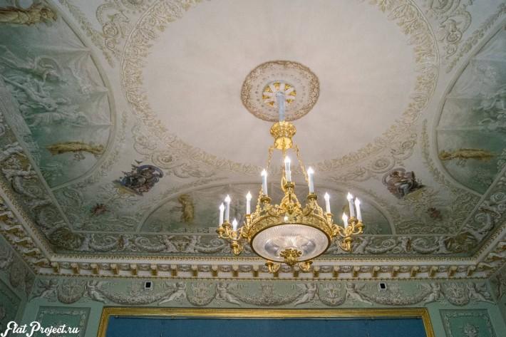 Потолки и декор в здании Главного штаба — фото 173