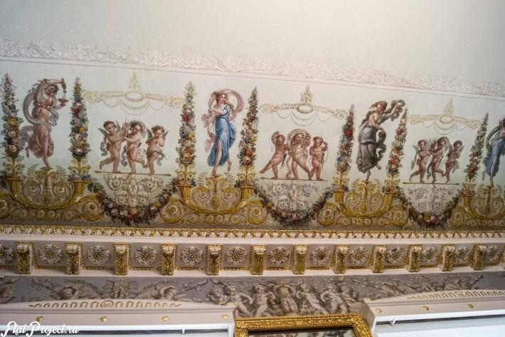 Потолки и декор в здании Главного штаба — фото 45