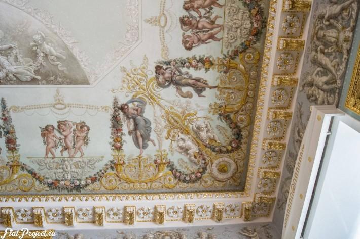 Потолки и декор в здании Главного штаба — фото 29
