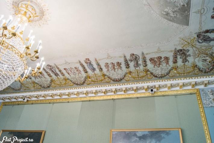 Потолки и декор в здании Главного штаба — фото 79