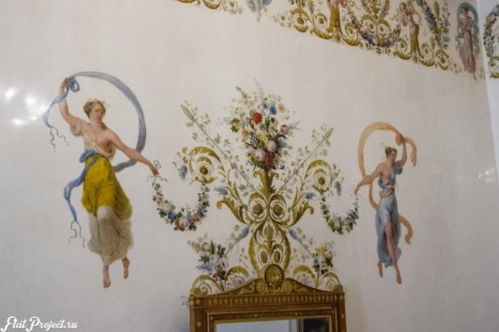 Потолки и декор в здании Главного штаба — фото 121