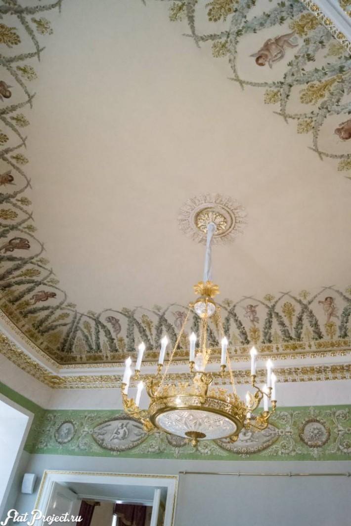 Потолки и декор в здании Главного штаба — фото 139