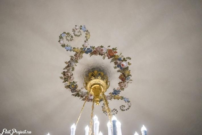 Потолки и декор в здании Главного штаба — фото 39