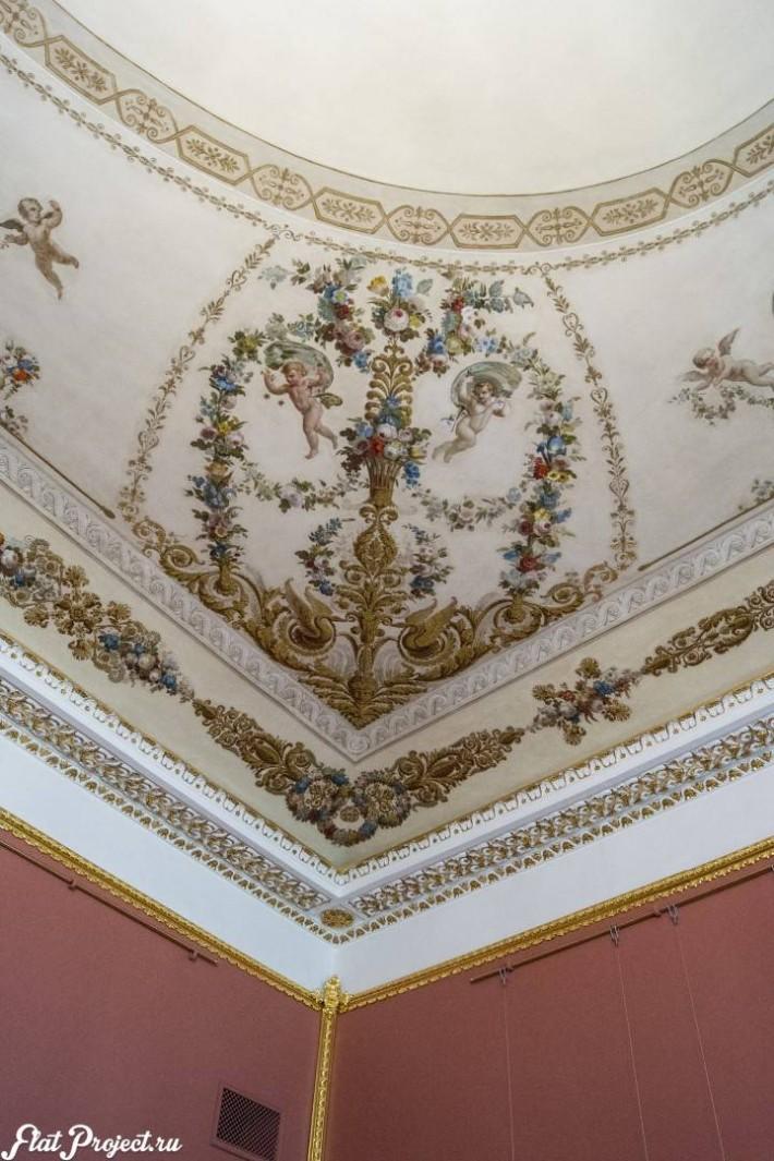 Потолки и декор в здании Главного штаба — фото 152