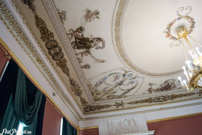 Потолки и декор в здании Главного штаба — фото 60