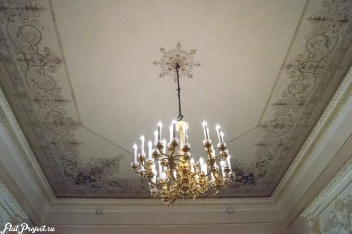 Потолки и декор в здании Главного штаба — фото 164