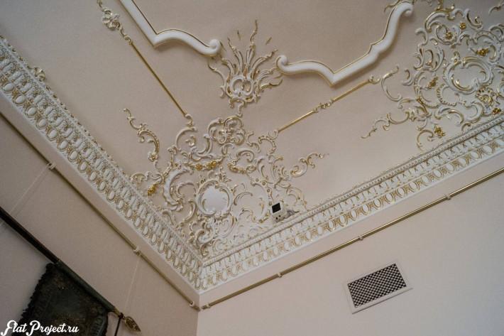 Потолки и декор в здании Главного штаба — фото 169