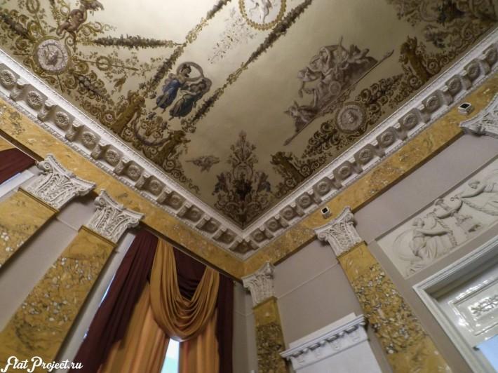 Потолки и декор в здании Главного штаба — фото 62