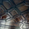 Деревянный потолок в Союза Художников — фото 1