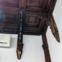 Деревянный потолок в Союза Художников — фото 2