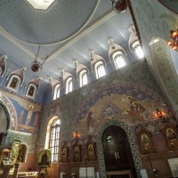 Декор церкви прп. Сергия Радонежского в Пушкине — фото 1