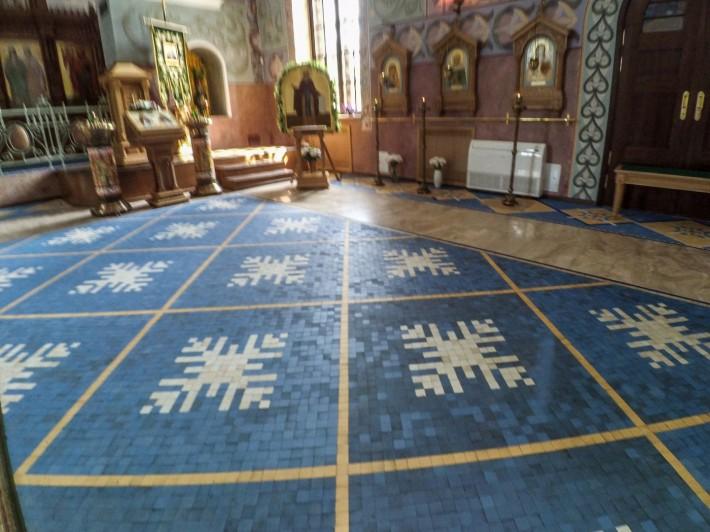 Декор церкви прп. Сергия Радонежского в Пушкине — фото 2
