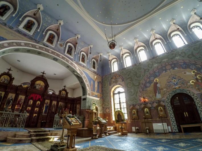 Декор церкви прп. Сергия Радонежского в Пушкине — фото 12