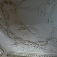 Лепнина на потолке в Дублинском замке