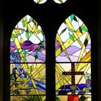 Витражи Собора Церкви Христовой в Нельсоне — фото 1