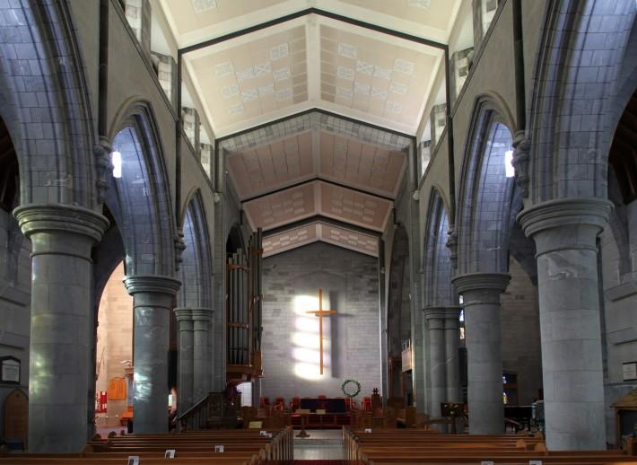 Потолок Собора Церкви Христовой в Нельсоне — фото 1