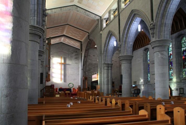 Потолок Собора Церкви Христовой в Нельсоне — фото 3