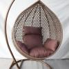 Плетеные подвесные кресла